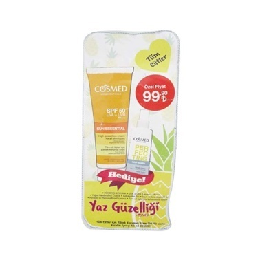 Cosmed Cosmed Sun Essential SPF50 Cream 50ml Set Renksiz